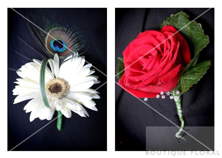 Boutique Floral Buttonholes