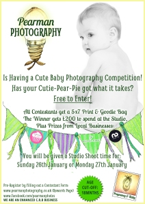 Baby Competition Poster