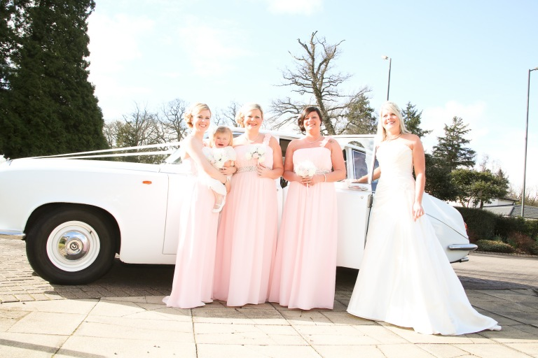 Paul McHutcheon, Laura Guthziet, Anticipation, Nerves, Unknown, Pink, Bridesmaids, Bride, Wedding Day, Pearman Photography