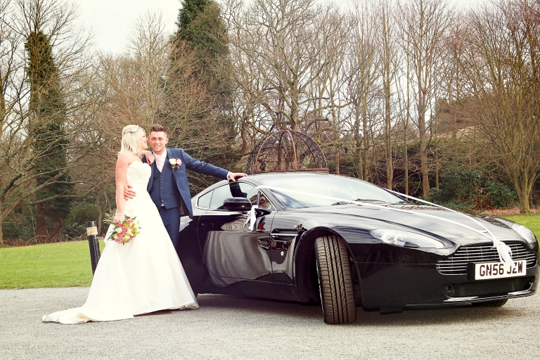 Paul McHutcheon, Laura Guthziet, Bride and Groom, Sports Car, Wedding Photography, Pearman