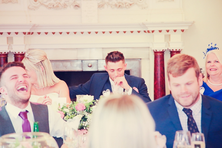 Paul McHutcheon, Before the speech, Pearman Photography, Wedding, Grooms Speech