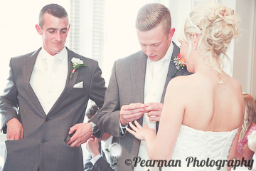 Rings, Bride and Groom, Lisa Fay, Richard Johnson, Pearman Photography, Wedding, Jesmond