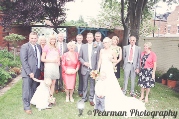 Family Group shot, Portrait, Wedding, Lisa Fay, Richard Johnson, Pearman Photography, Wedding, Jesmond