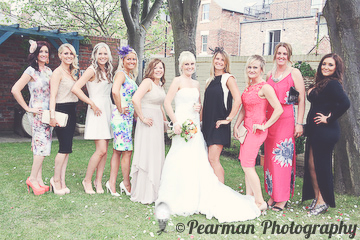 All the Girls, Hens, Wedding Day portrait,Lisa Fay, Richard Johnson, Pearman Photography, Wedding, Jesmond