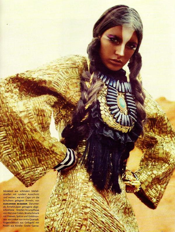 acquelyn Jablonski by Sebastian Kim for Vogue Germany July 2010