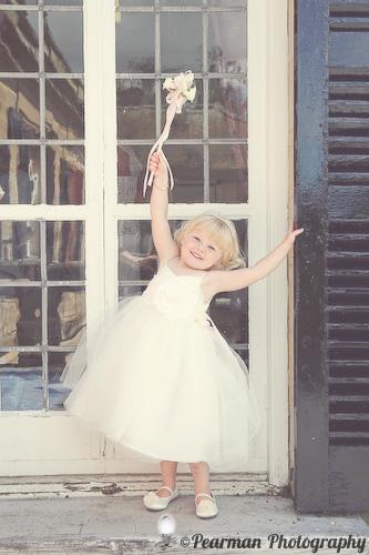 Flower Girl, Pearman Photography, Paige Rowland, Anthony Battista, Vintage Wedding, Kirkley Hall, Pink and White Colour Theme, Country Theme