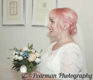 Badekan, Pink Haired Bride,  Jewish Wedding, Pearman Photography, London Wedding Photographer, Amy Nicholson, Justin Brett