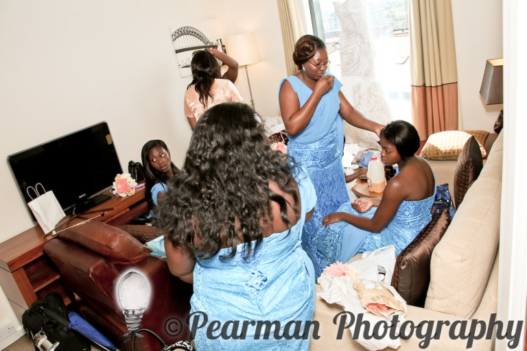 Pearman Photography, Wedding, Boutique, Chaos, Wedding Preparations, African Wedding, Newcastle, Nerves, Excitement