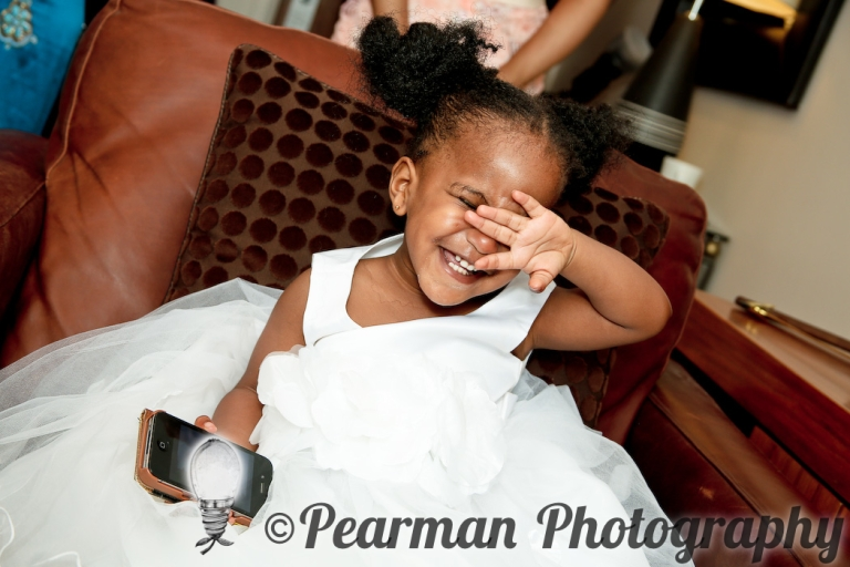 Pearman Photography, Wedding, Boutique, Chaos, Wedding Preparations, African Wedding, Newcastle, Nerves, Excitement, Flower Girl