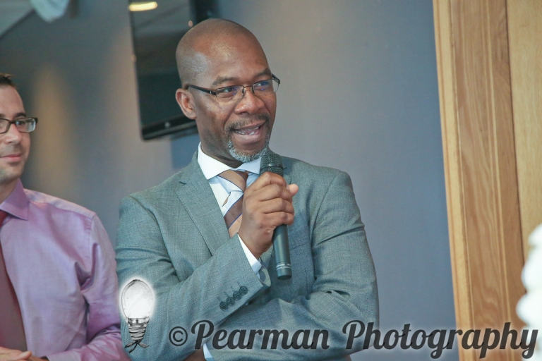 Pearman Photography, Wedding Photography, African Wedding, Ijeoma, Udu Odah, Kingston Park Rugby Club, Cake Cutting Commentary, Peach Icing, Duck Egg Blue Icing