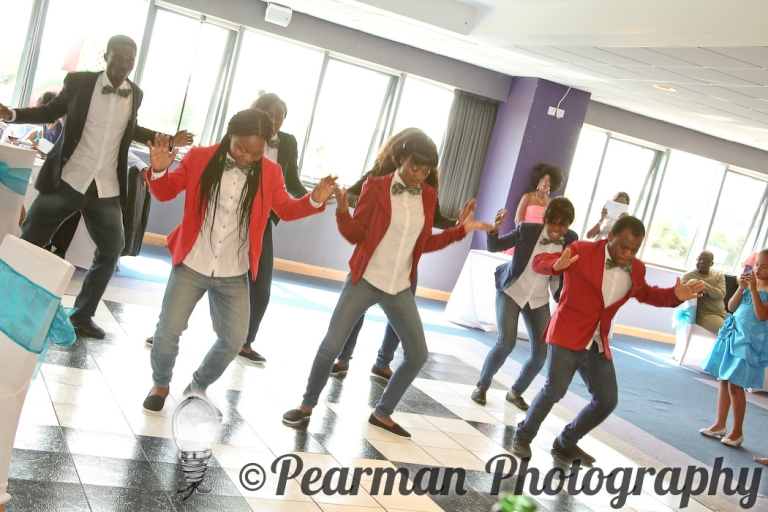 Pearman Photography, Wedding Photography, African Wedding, Ijeoma, Udu Odah, Kingston Park Rugby Club, Youth Group Dancing