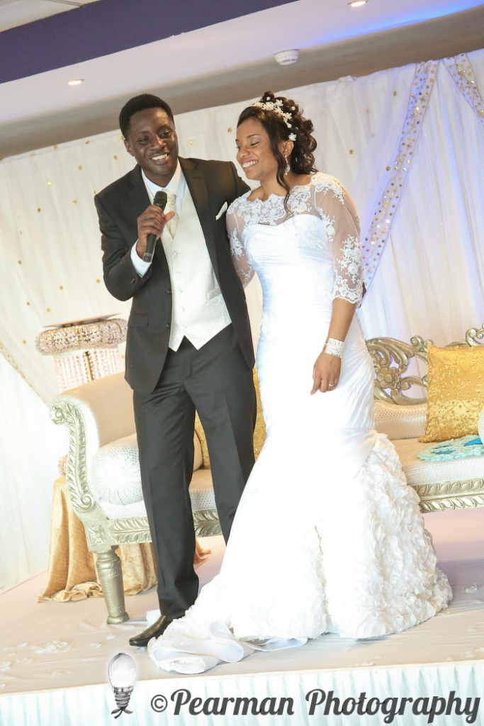 Pearman Photography, Wedding Photography, African Wedding, Ijeoma, Udu Odah, Kingston Park Rugby Club, Speeches, Groom