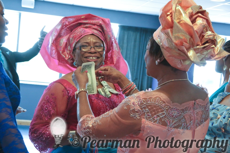 Pearman Photography, Wedding Photography, African Wedding, Ijeoma, Udu Odah, Kingston Park Rugby Club, Mother of the Bride, Money giving Dancing
