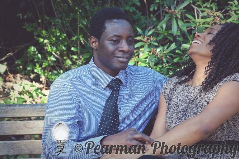 Pearman Photography, Engagement, Boutique, Ijeoma, Udu, Laughing, Jesmond Dene, Newcastle, Couple