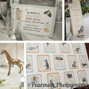 Fantastic Mr Fox Illustrations,  Jewish Wedding, Pearman Photography, London Wedding Photographer, Amy Nicholson, Justin Brett
