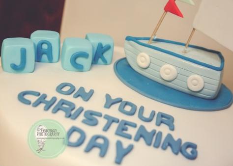 Sailboat Naval Baptism Cake