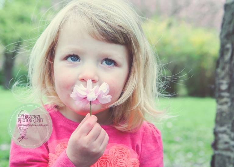 Probably the CUTEST Cherry blossoms shot EVER!