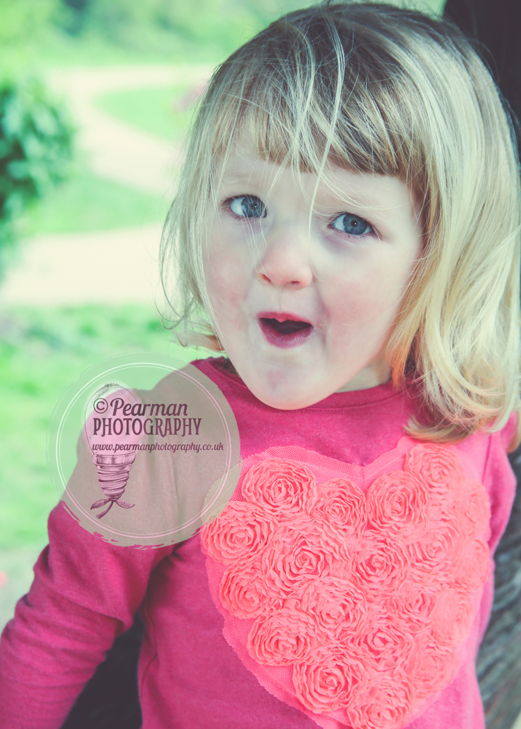 One of many Funny Faces from Maggie near the end of our shoot.