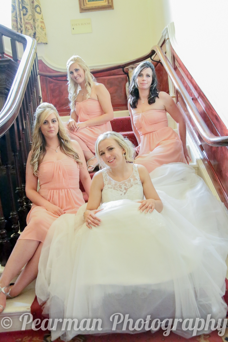 Of Laurels 6 Bridesmaids, these 3 were the most 'hard-core' the other ladies had to take a rest when we did these pictures, and we all agreed I'd mention it here. Sorry gals!